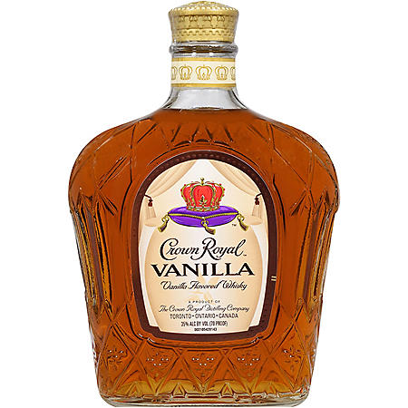 Crown Royal Vanilla Flavored Whisky (750mL)