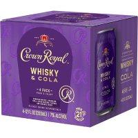 Crown Royal Whiskey and Cola (355 ml, 4 pk.)