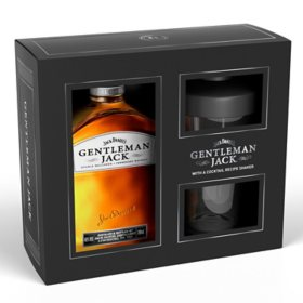 Jack Daniel's Gentleman Jack Whiskey with Shaker Gift Pack