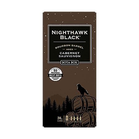 Bota Box Nighthawk Black Bourbon Barrel Cabernet Sauvignon (3 L)