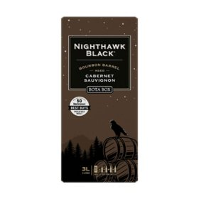 Bota Box Nighthawk Black Bourbon Barrel Cabernet Sauvignon (3 L)