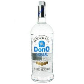Don Q Cristal Puerto Rican Rum (1 L)
