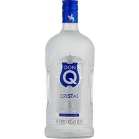 Don Q Cristal Puerto Rican Rum  (1.75 L)