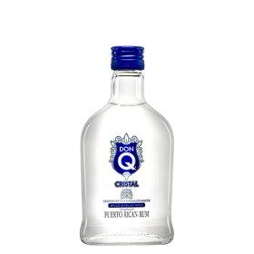 Don Q Cristal Puerto Rican Rum (200 ml bottle,  24 pk.)