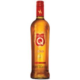 Don Q Gold Puerto Rican Rum (750 ml)