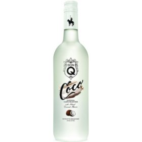 Don Q Coco Flavored Rum (750 ml)