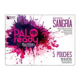 Palo Ready Sangria (5 pouches, 4 pk.)