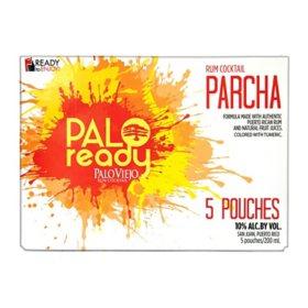 Palo Viejo Palo Ready Parcha Rum Cocktail (5 pouches, 4 pk.)