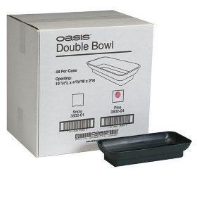 OASIS® Double Design Floral Bowl - Pine - 48 ct.