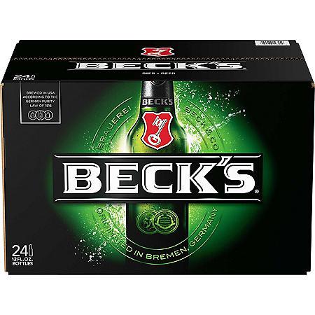 Beck's Beer (12 fl. oz. bottle, 24 pk.)