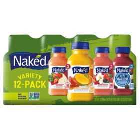 Naked Juice Smoothie Variety Pack (10 oz., 12 ct.)