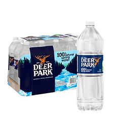 Deer Park Natural Spring Water (1L bottles, 15 pk.)