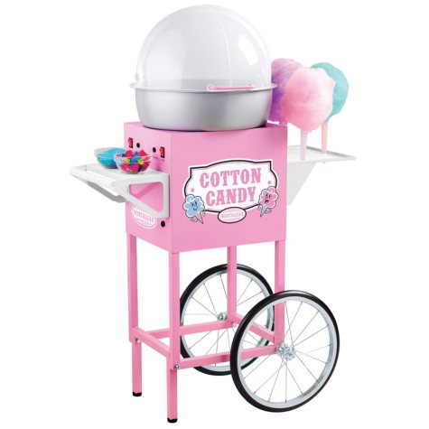 Nostalgia Electrics™ CCM600 Vintage Collection™ Old Fashioned Cotton Candy Cart