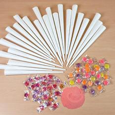 Nostalgia HCK-800 Hard & Sugar-Free Cotton Candy Kit