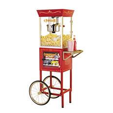 Nostalgia Popcorn Maker & Concession Cart