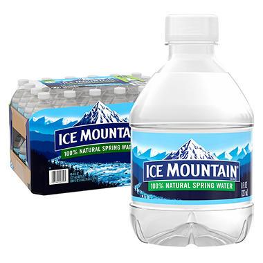 Ice Mountain 100 Natural Spring Water 8 Fl Oz Bottles
