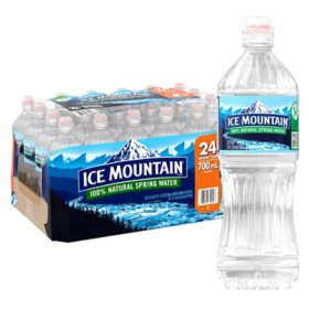 Ice Mountain Sportcap 100% Natural Spring Water (23.7oz / 24pk)