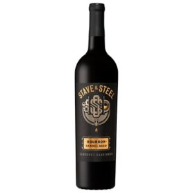 Stave & Steel Paso Robles Cabernet Sauvignon Red Wine (750 ml)