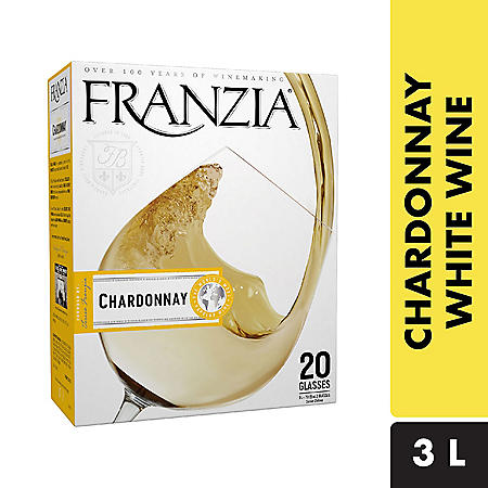Franzia Chardonnay White Wine (3 L)