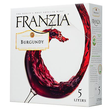 FRANZIA 5.0 LITER BURGUNDY