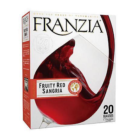 Franzia Fruity Red Sangria Red Wine (3 L box)