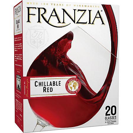 Franzia Chillable Red Red Wine (3L box)
