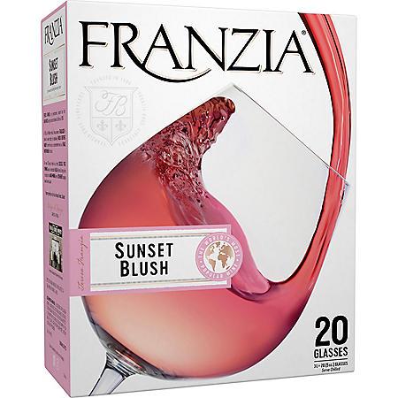 Franzia Sunset Blush Pink Wine (3L box)