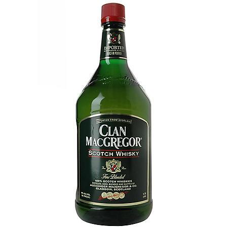 Clan MacGregor Scotch Whisky (1.75 L)