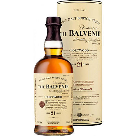The Balvenie Portwood 21 Year Old Malt Whisky (750 ml)