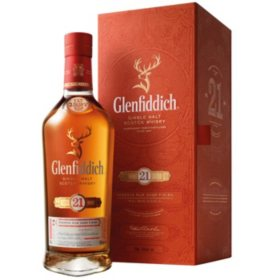 Glenfiddich 21 Year Old Gran Reserva Scotch Whisky (750 ml)