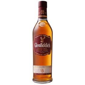 Glenfiddich 15 Year Single Malt Scotch Whisky (750 ml)