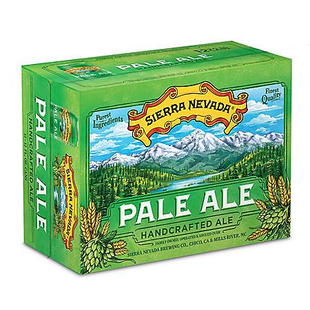 Sierra Nevada Pale Ale (12 fl. oz. can, 12 pk.)