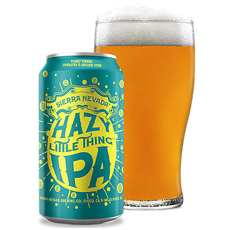 Sierra Nevada Hazy Little Thing IPA (12 fl. oz. can, 12 pk.)