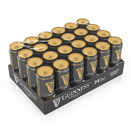 Guinness Draught Import Beer (14.9 fl. oz. can, 24 pk.)