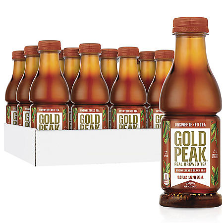 Gold Peak Unsweetened Tea (18.5oz / 12pk)