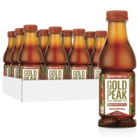 Gold Peak Unsweetened Tea (18.5oz / 12pk)