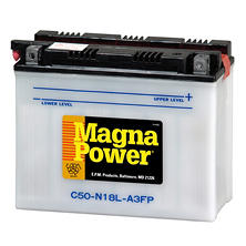 Magna Power Power Sports Battery - Group Size 50N18LA3