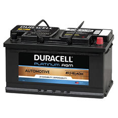 Duracell AGM Automotive Battery - Group Size 49 (H8)