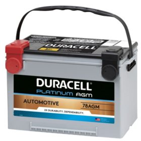 Duracell AGM Automotive Battery - Group Size 78