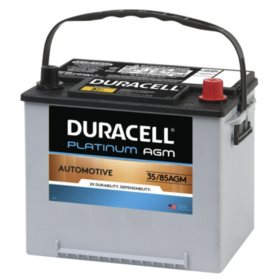 Duracell AGM Automotive Battery - Group Size 35/85