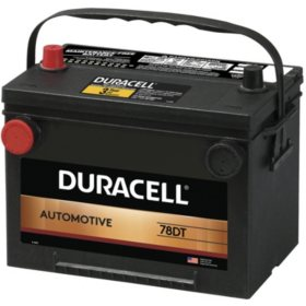 Duracell Automotive Battery - Group Size 34/78