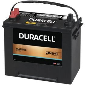 Duracell Marine Starting Battery, Group size 24