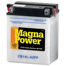 Magna Power Power Sports Battery - Group Size 14LA2