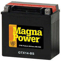 Magna Power Power Sports Battery - Group Size 14BS