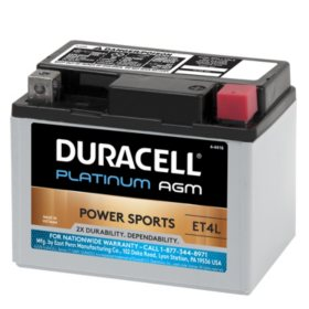 Duracell AGM Powersport Battery - ET4L