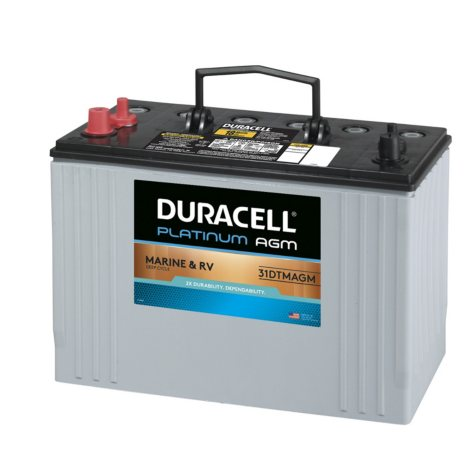 Duracell AGM Deep Cycle Marine and RV Battery (Group Size 31)