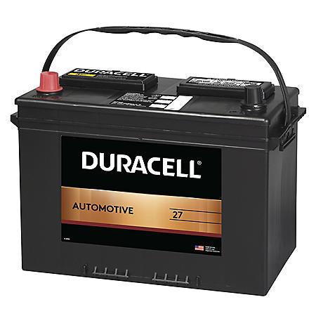 Duracell Automotive Battery - Group Size 27
