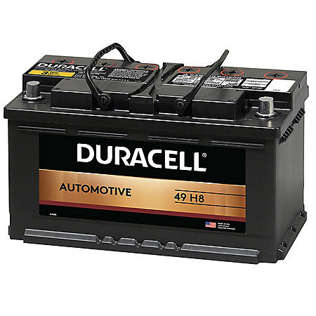 Duracell Car Battery Review >> Duracell Automotive Battery Group Size 49 H8 Sam S Club