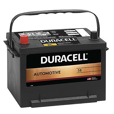Duracell Automotive Battery - Group Size 58