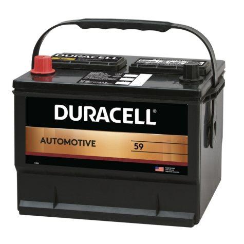 Duracell Automotive Battery - Group Size 59